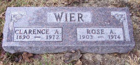 WIER, CLARENCE A. - Shelby County, Iowa | CLARENCE A. WIER