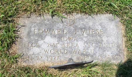 WIESE, EDWARD J. (MILITARY) - Shelby County, Iowa | EDWARD J. (MILITARY) WIESE