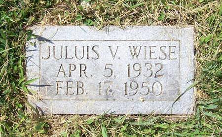 WIESE, JULUIS V. - Shelby County, Iowa | JULUIS V. WIESE
