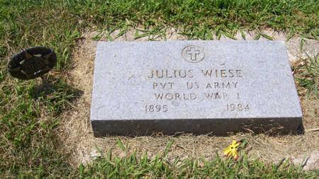 WIESE, JULIUS (MILITARY) - Shelby County, Iowa   JULIUS (MILITARY) WIESE
