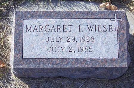 WIESE, MARGARET I. - Shelby County, Iowa | MARGARET I. WIESE