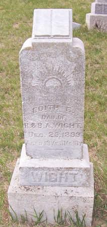 WIGHT, EDITH E. - Shelby County, Iowa | EDITH E. WIGHT