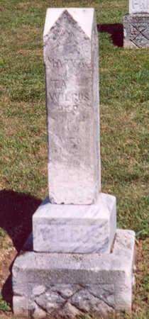 WILGUS, MARY A. - Shelby County, Iowa   MARY A. WILGUS