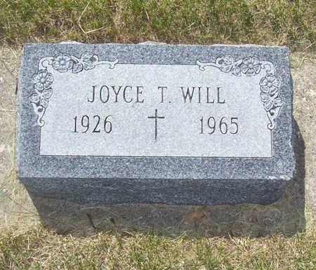 WILL, JOYCE T. - Shelby County, Iowa   JOYCE T. WILL