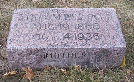 WILLIAMS, ANNA M. (MOTHER) - Shelby County, Iowa | ANNA M. (MOTHER) WILLIAMS