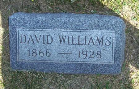 WILLIAMS, DAVID - Shelby County, Iowa   DAVID WILLIAMS