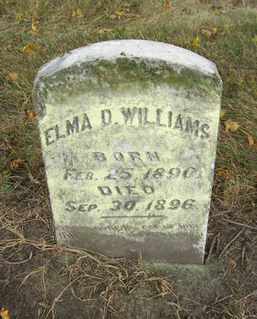WILLIAMS, ELMA D. - Shelby County, Iowa | ELMA D. WILLIAMS