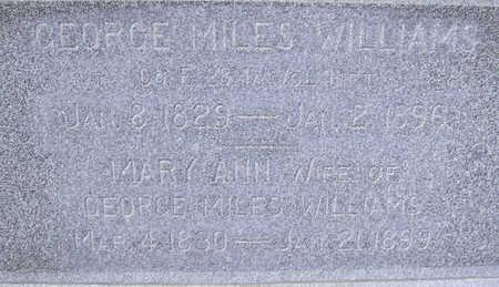 WILLIAMS, MARY ANN (CLOSE-UP) - Shelby County, Iowa   MARY ANN (CLOSE-UP) WILLIAMS