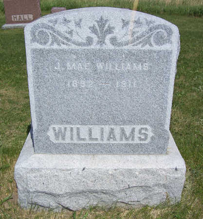 WILLIAMS, J. MAE - Shelby County, Iowa | J. MAE WILLIAMS