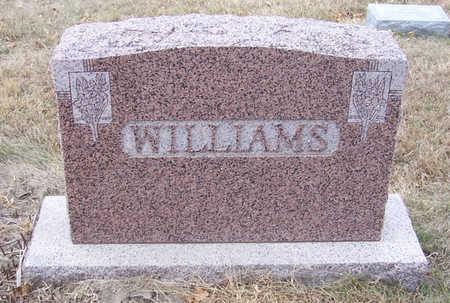 WILLIAMS, JOHN C. & ANNA M. (LOT) - Shelby County, Iowa | JOHN C. & ANNA M. (LOT) WILLIAMS