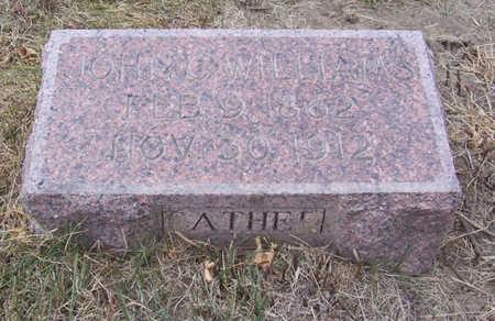 WILLIAMS, JOHN C. (FATHER) - Shelby County, Iowa | JOHN C. (FATHER) WILLIAMS