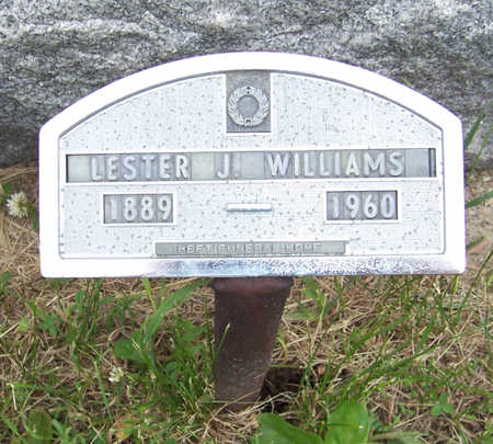 WILLIAMS, LESTER J. - Shelby County, Iowa | LESTER J. WILLIAMS