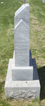 WILLIAMS, ORAL HARRISON - Shelby County, Iowa | ORAL HARRISON WILLIAMS