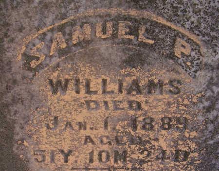 WILLIAMS, SAMUEL P. (CLOSE-UP) - Shelby County, Iowa | SAMUEL P. (CLOSE-UP) WILLIAMS