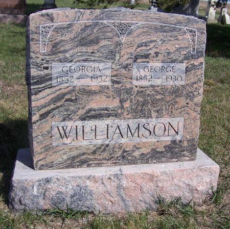 WILLIAMSON, GEORGE - Shelby County, Iowa | GEORGE WILLIAMSON