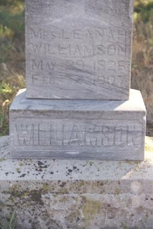 WILLIAMSON, LEANAH - Shelby County, Iowa | LEANAH WILLIAMSON