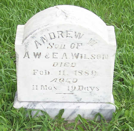WILSON, ANDREW W. - Shelby County, Iowa | ANDREW W. WILSON