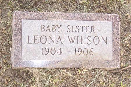 WILSON, LEONA - Shelby County, Iowa | LEONA WILSON