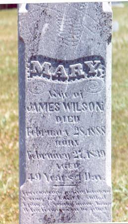 WILSON, MARY - Shelby County, Iowa | MARY WILSON