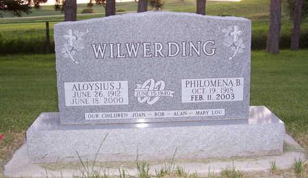 WILWERDING, PHILOMENA B. - Shelby County, Iowa | PHILOMENA B. WILWERDING