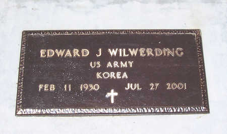 WILWERDING, EDWARD J. (MILITARY) - Shelby County, Iowa | EDWARD J. (MILITARY) WILWERDING