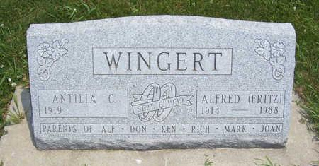 BLUM WINGERT, ANTILIA C. - Shelby County, Iowa | ANTILIA C. BLUM WINGERT