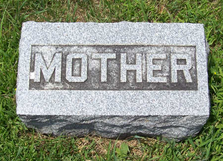 WINGERT, MARTHA (MOTHER) - Shelby County, Iowa   MARTHA (MOTHER) WINGERT