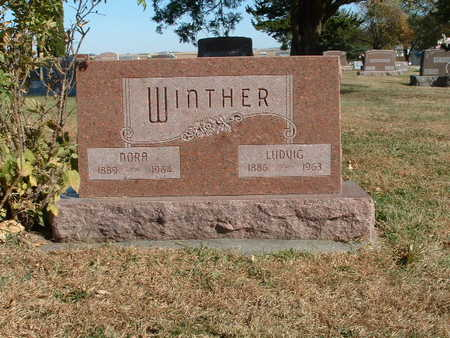 WINTHER, NORA - Shelby County, Iowa | NORA WINTHER