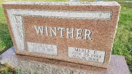 WINTHER, MERLE E. - Shelby County, Iowa | MERLE E. WINTHER