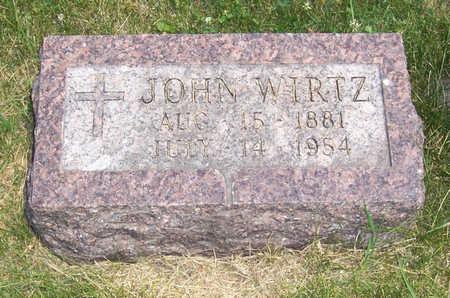 WIRTZ, JOHN - Shelby County, Iowa   JOHN WIRTZ