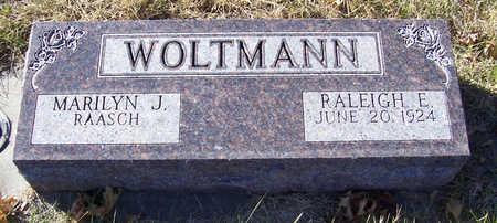 WOLTMANN, RALEIGH E. - Shelby County, Iowa   RALEIGH E. WOLTMANN