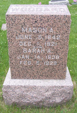 DEGRAW WOODARD, SARAH A. - Shelby County, Iowa | SARAH A. DEGRAW WOODARD