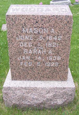 WOODARD, MASON A. - Shelby County, Iowa | MASON A. WOODARD
