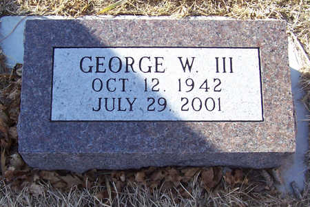 WOODWARD, GEORGE W. III - Shelby County, Iowa | GEORGE W. III WOODWARD