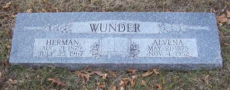 WUNDER, HERMAN - Shelby County, Iowa | HERMAN WUNDER