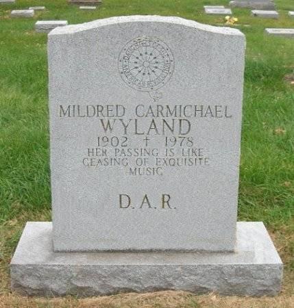 WYLAND, MILDRED CARMICHAEL - Shelby County, Iowa | MILDRED CARMICHAEL WYLAND