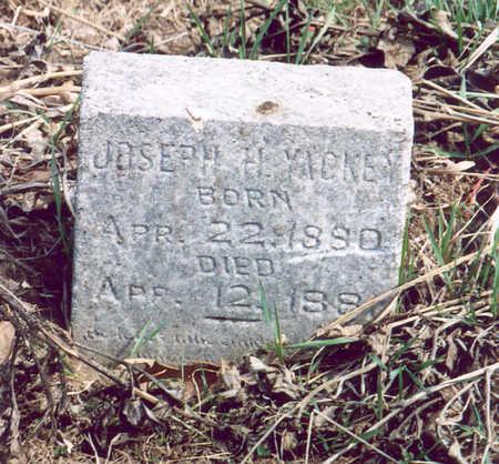 YACKEY, JOSEPH H. - Shelby County, Iowa | JOSEPH H. YACKEY
