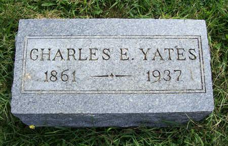 YATES, CHARLES E. - Shelby County, Iowa   CHARLES E. YATES