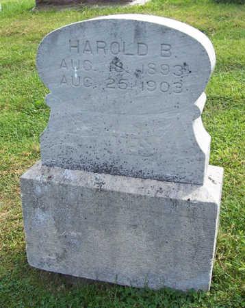 YATES, HAROLD B. - Shelby County, Iowa | HAROLD B. YATES