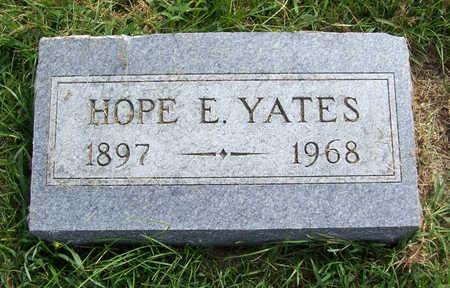 YATES, HOPE E. - Shelby County, Iowa | HOPE E. YATES