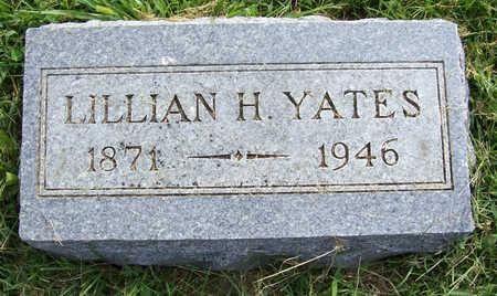 YATES, LILLIAN H. - Shelby County, Iowa | LILLIAN H. YATES