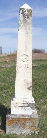 YOUNG, JOHN - Shelby County, Iowa | JOHN YOUNG