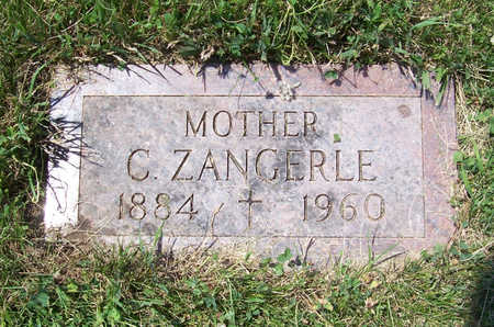 ZANGERLE, CRESCENTIA (MOTHER) - Shelby County, Iowa | CRESCENTIA (MOTHER) ZANGERLE