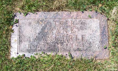 ZANGERLE, FRANK (FATHER) - Shelby County, Iowa   FRANK (FATHER) ZANGERLE