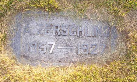 ZERSCHLING, A. - Shelby County, Iowa | A. ZERSCHLING