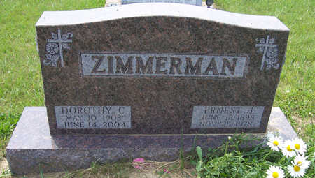 ZIMMERMAN, ERNEST J. - Shelby County, Iowa | ERNEST J. ZIMMERMAN