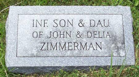 ZIMMERMAN, INFANT SON - Shelby County, Iowa | INFANT SON ZIMMERMAN