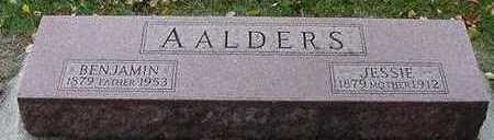 AALDERS, JESSIE (MRS. BENJAMIN) - Sioux County, Iowa | JESSIE (MRS. BENJAMIN) AALDERS