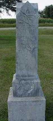 AALDERS, DINA  (MRS. G. H. ) - Sioux County, Iowa   DINA  (MRS. G. H. ) AALDERS
