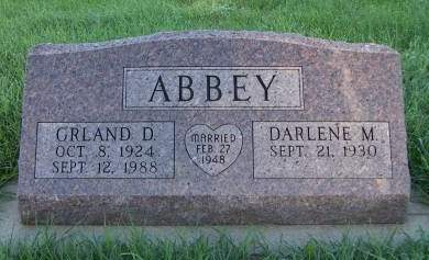 ABBEY, ORLAND D. - Sioux County, Iowa | ORLAND D. ABBEY
